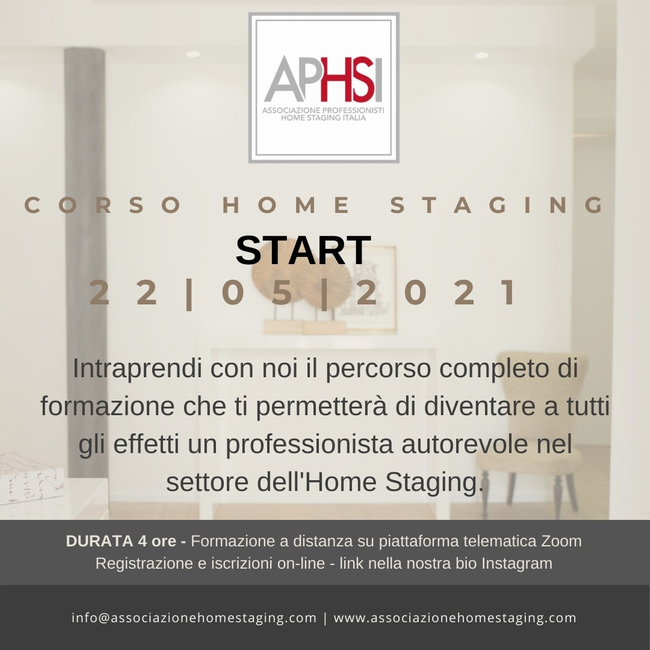 corso online home staging
