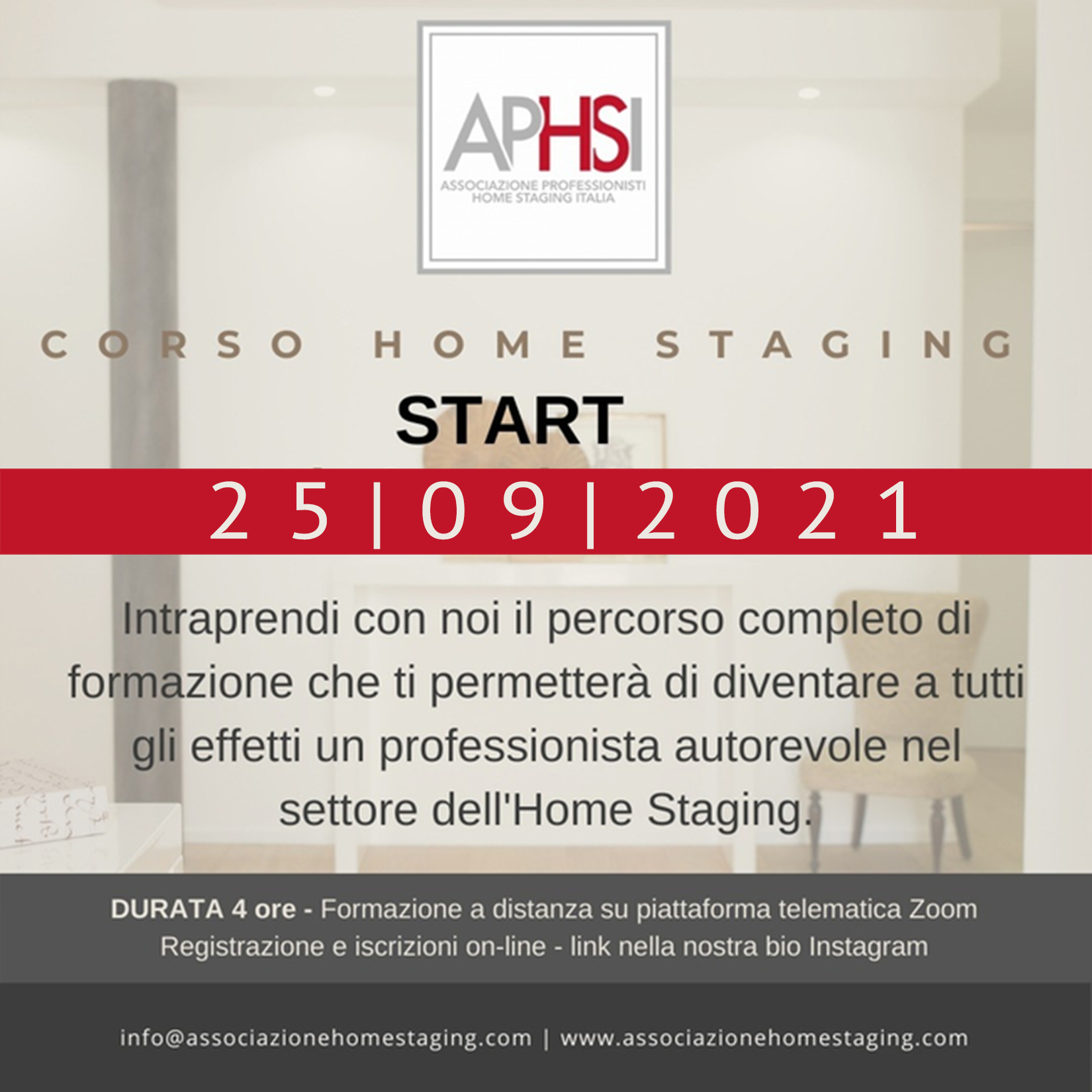 corso home staging